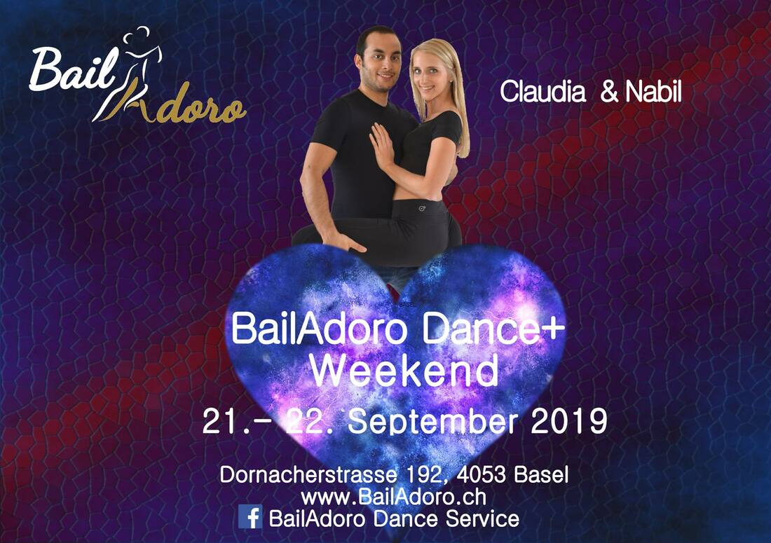 Nabil&Claudia, Bachata, Sensual, Tanzen, Bern, Workshop, Bailadoro Dance Weekend, Rabatt, Tickets