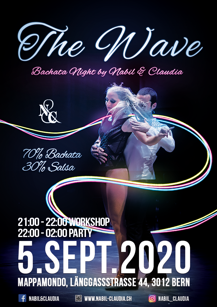 Nabil&Claudia, Bachata, Sensual, Tanzen, Kurs, Bern, Party, The Wave, Bachata Night, Ausgang
